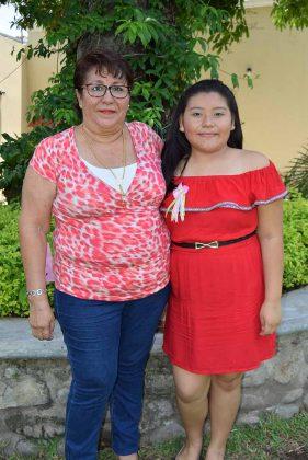 Patricia Hernández, Rosa Cano.