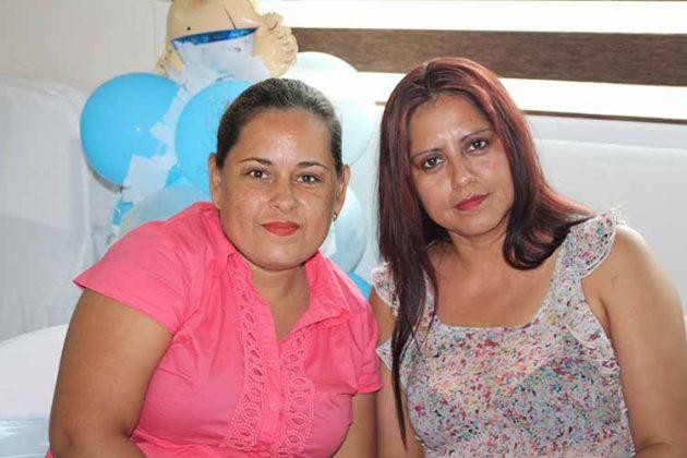 Susy Hernández, Cecilia Clemente.
