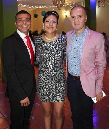 Ovet Reyes, Belén González, Pepe Trujillo.