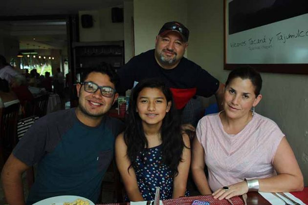 Familia Solís Villate.