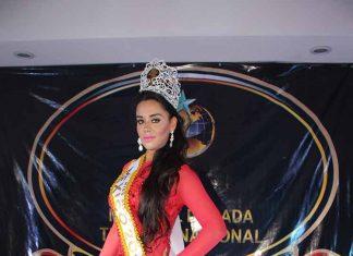 Gianna de la Guardia. CDMX, Miss Piel Dorada Turismo Nacional 2017.