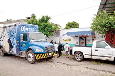 Asaltan a Repartidores de Cerveza
