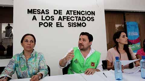 Activan Mesas de Atención a Damnificados en Tuxtla