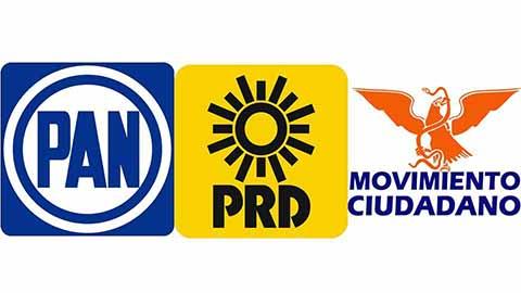 PRD, PAN, MC y MORENA Respaldan Iniciativa de dar a Damnificados 100% del Recurso de Partidos