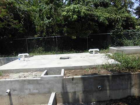 Inoperante Fosa Séptica en San Antonio Cahoacán