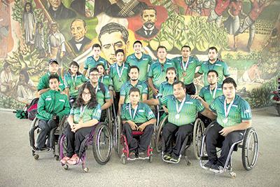 Titular de la SJRyD se Reúne con Medallistas Paralímpicos