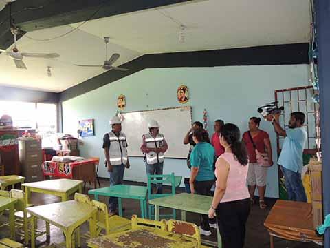 Colegio de Ingenieros Supervisa Estado de Escuelas en el Soconusco