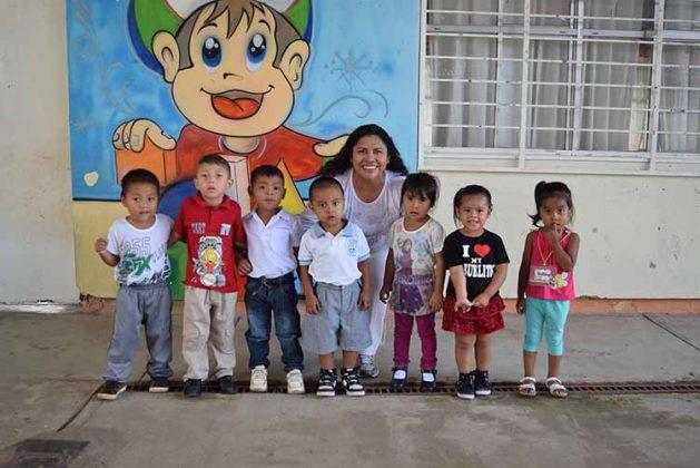 primer grado del preescolar: