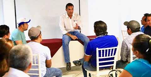 Urge Reactivar la Economía en Palenque, Para Generar Empleos Productivos: Melgar