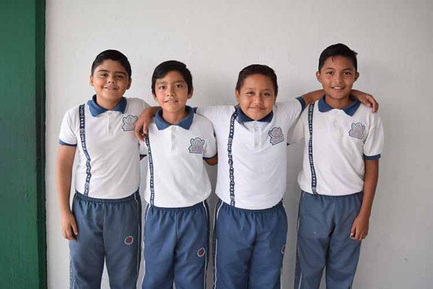 Mauricio López, Andrés Sandoval, Alexis Escobar, Jorge Valdivieso.