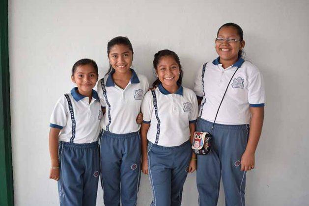 Brisa Hernández, Mía Tadeo, Estefani Ortiz, Camila Cruz.