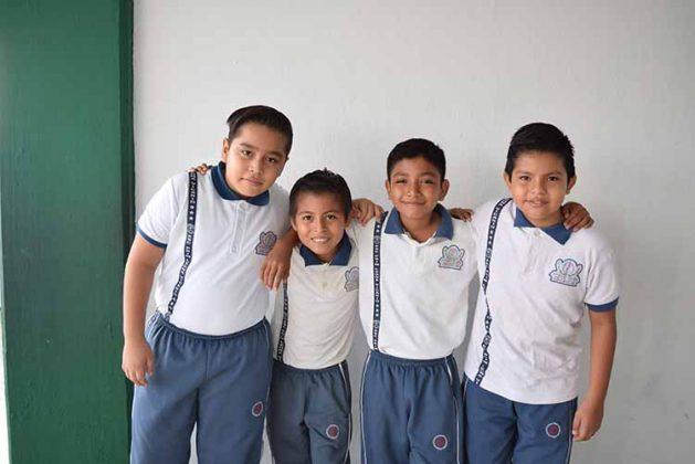 Gael Orozco, Kevin Solís, Luis Melchor, Samuel Velázquez.