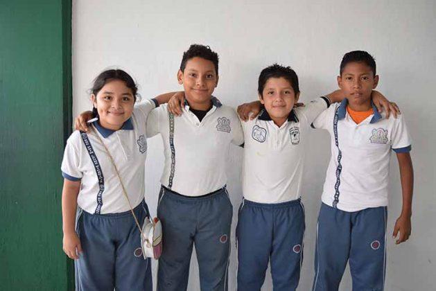 Gema López, Artemio Citalán, Brian de la Cruz, Isaac de la Cruz.