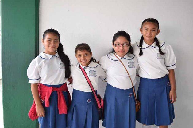 María Gutiérrez, Dana Rivera, Atxiri Velázquez, Irma Cervantes.