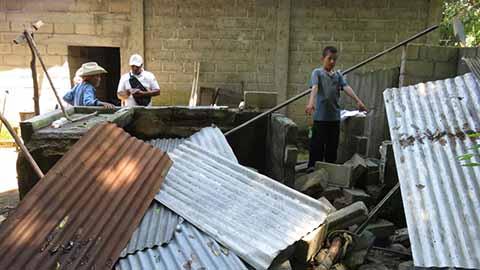 SEGOB Activa Recursos del FONDEN Para Afectados por el Terremoto