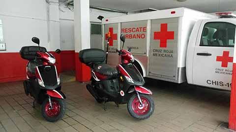 Cruz Roja Acelerará Atención Con Paramédicos Motociclistas