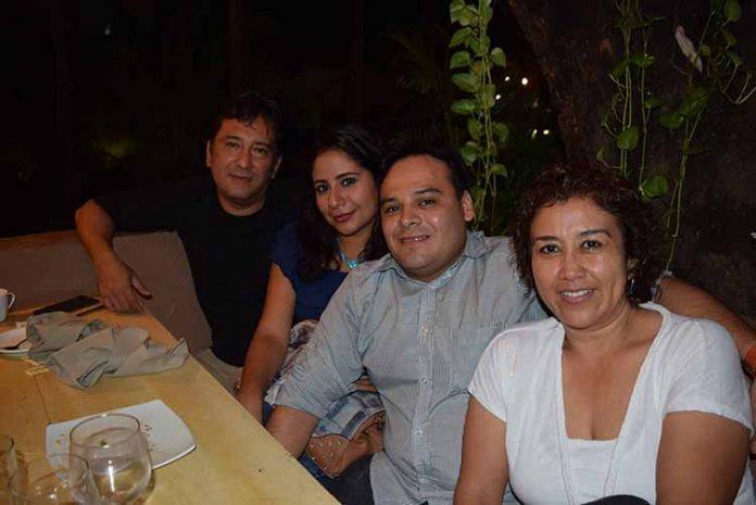 Omar Morales, Isabel Martínez, Miguel Castillo, Alma Amores.