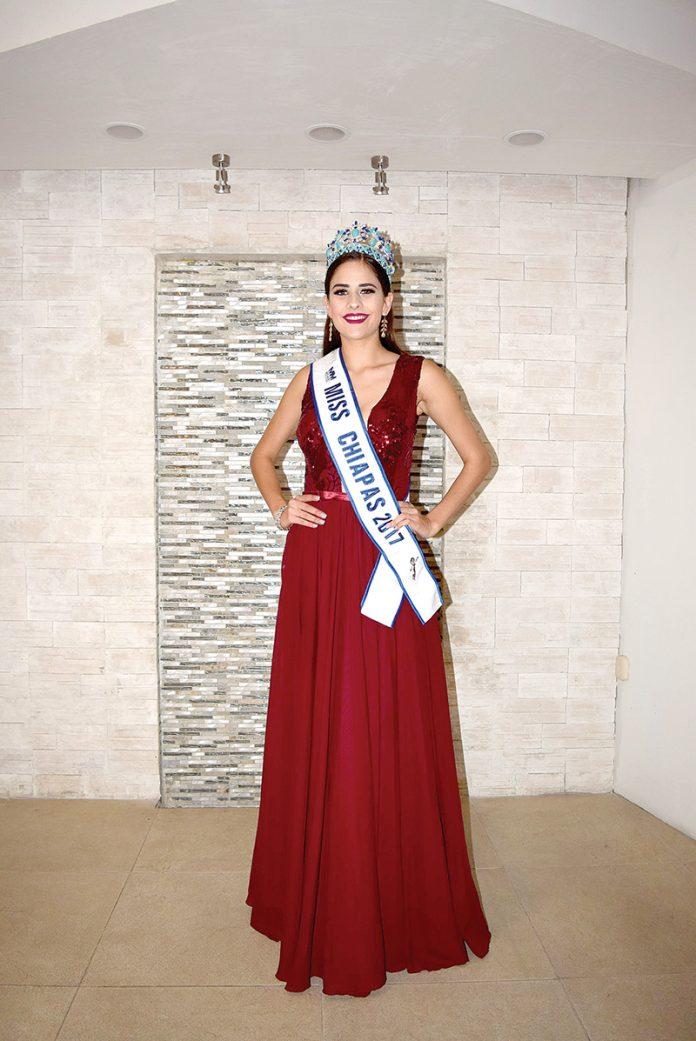 Miss Chiapas Charla con EL ORBE