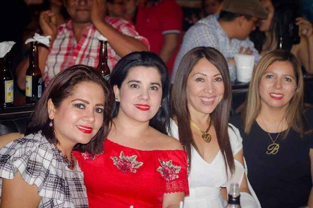 Liliana Constantino, Lissette Nagaya, Polyana de Coss, Gaby Arredondo.