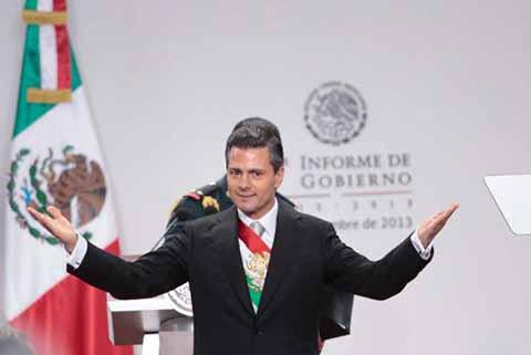 Enrique Peña Nieto Entrega hoy 5º. Informe de Gobierno al Congreso