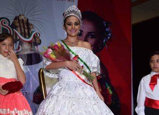 S.M. Georgina I, reina de las Fiestas Patrias Tapachula 2017.