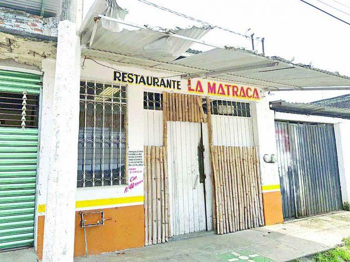 """Roban en el Bar """"La Matraca"""""""