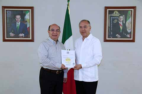 Nombra Manuel Velasco Nuevo Coordinador General del Gabinete