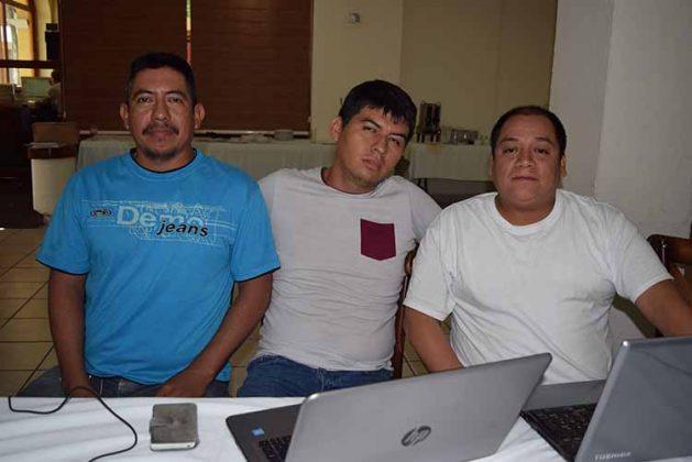 Him López, Luis Alvarado, Marco Linares, PAPSA.