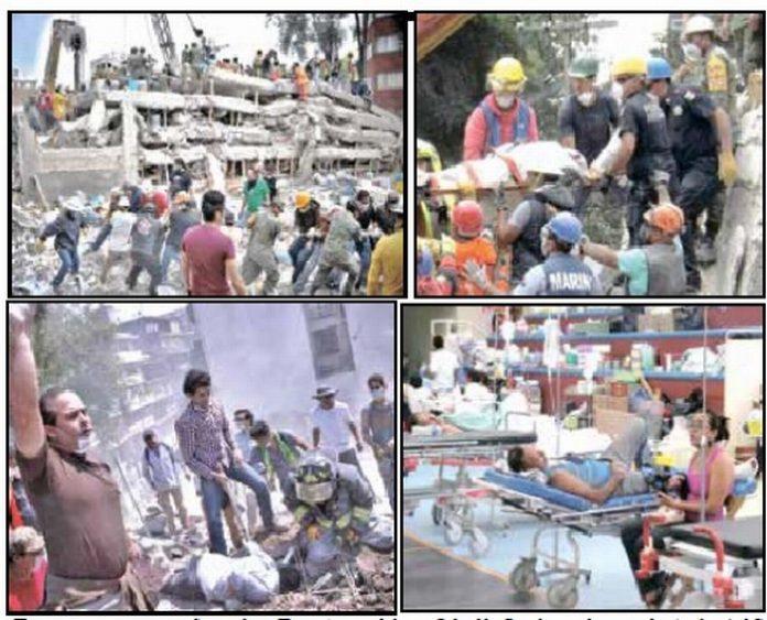 Aumenta a 302 Víctimas por el Terremoto; Que el Dinero de Partidos Vaya a Damnificados: Velasco