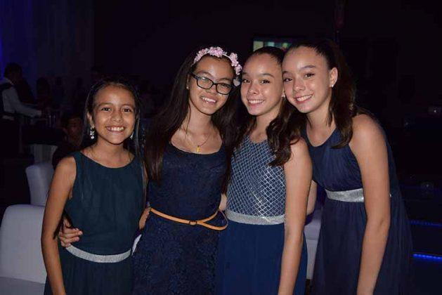 Mara Aguilar, Valeria Cázarez, Iliana Cázarez, Patricia Fong.