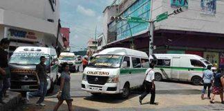Protestan Transportistas por Obras Abandonadas en la Ciudad