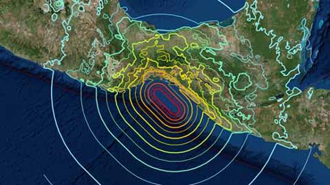 Casi 4 Mil Réplicas del Terremoto de Chiapas: SSN