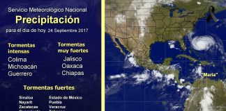 "Tormenta Tropical ""Pilar"" Provoca Intensas Lluvias en Pacífico Mexicano"