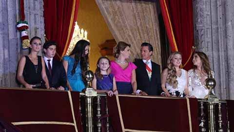 Peña Nieto Cancela Cena del 15 de Septiembre