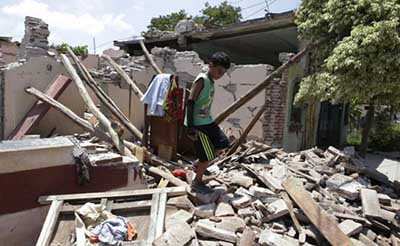 Banco de Desarrollo en AL Dona 3.5 mdp a México por Terremoto