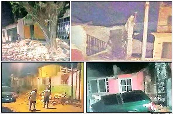 Terremoto de 8.4 Grados Sacude Chiapas, Gran Parte del País y Centroamérica