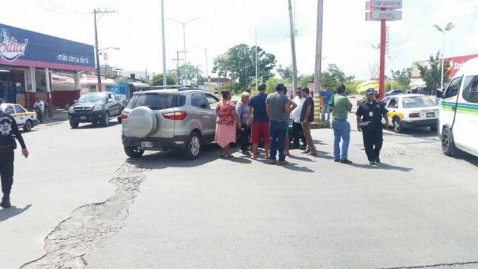 Daños en Choque de Particular Contra Taxi