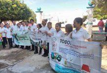 Combaten Dengue, Zika Y Chikungunya en Huixtla
