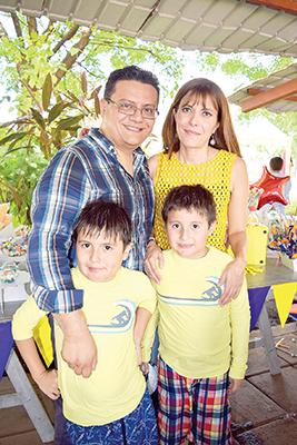 Familia González González.