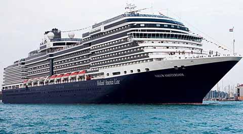 Arribo el Crucero Nieuw Amsterdam a Puerto Chiapas