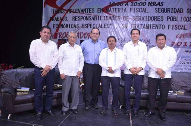 Mario Meza, Carlos Lau, Héctor Lazos, Ramón Ruiz, Héctor Lazos, Ramiro Ávalos, Florentino Bautista.