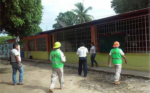 Escuelas de Chiapas Entran en Fase de Reconstrucción