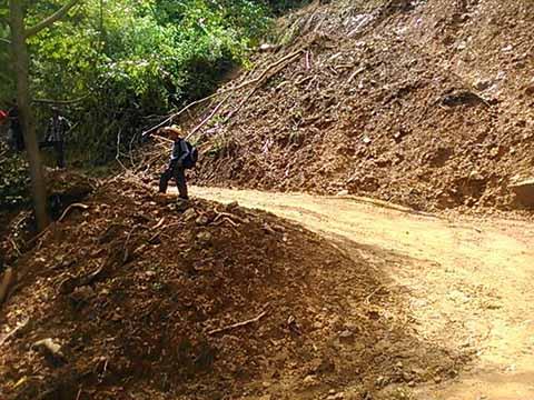 Constantes Deslaves Afectan Municipios de la Zona Sierra