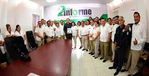 """Con Audiencia Pública """"De Ciudadano a Ciudadano"""" Emite Enrique Álvarez ll Informe de Gobierno en Cacahoatán"""