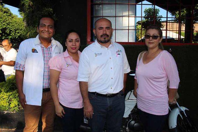 Alberto López, Sonia López, David Jiménez, Claudia Quijano.
