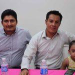 Williams Aguilar, Baldomero Ortiz, Zoe Ortiz.