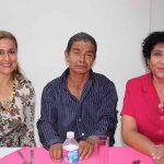 Mariana Nájera, David Maldonado, Isaura Zamora.
