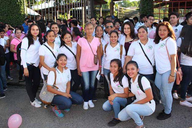 Escuela de Enfermería Tapachula turno matutino.