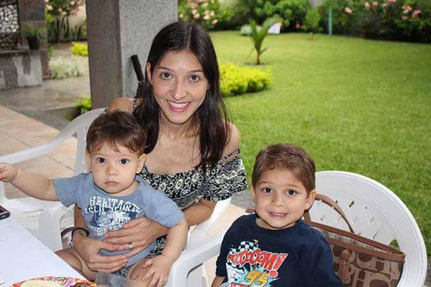 Josías, Cynthia, Mario Ochoa.