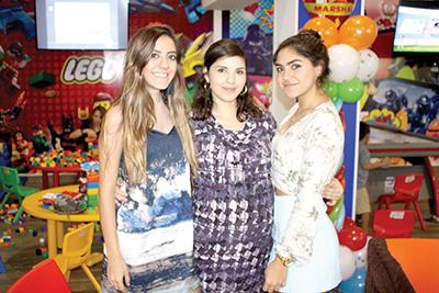Valeria, Alejandra, Lorena Aguirre.